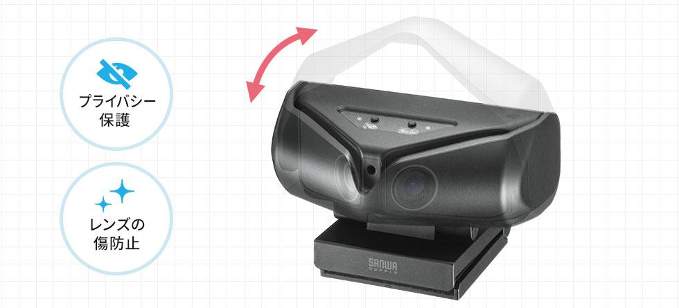 プライバシー保護 レンズの傷防止