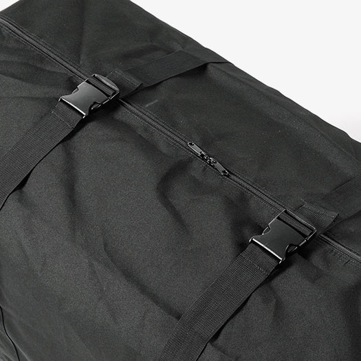 荷物の広がりを防ぐバックベルト