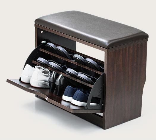 靴を収納できる