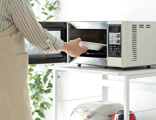 設置した家電が使いやすいロータイプ