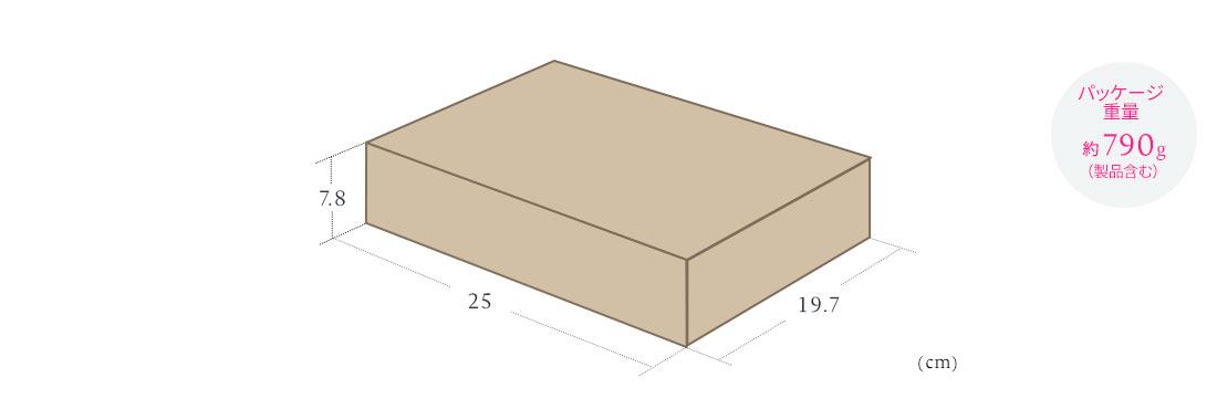 パッケージ重量 約790g