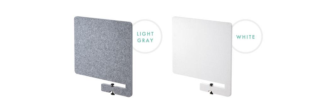 LIGHT GRAY/WHITE