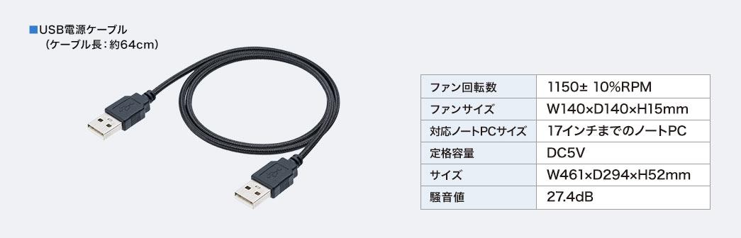 USB電源ケーブル