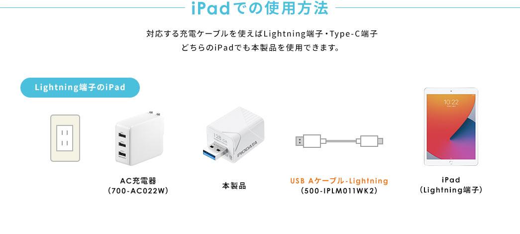 iPadでの使用方法