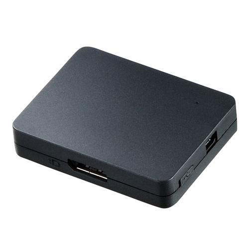 DisplayPortのMST(マルチストリームトランスポート転送)に対応したハブ。
