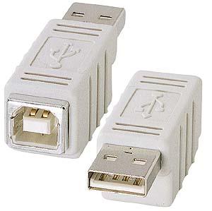 USB Bコネクタメス・USB Aコネクタオス