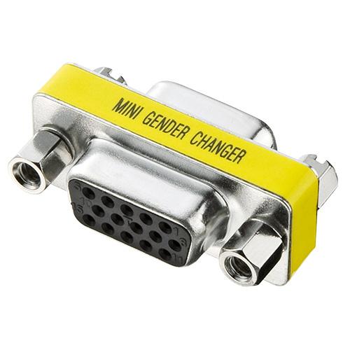 ジェンダーチェンジャー(D-sub系コネクタ)。ADHD15S-FF サンワサプライ