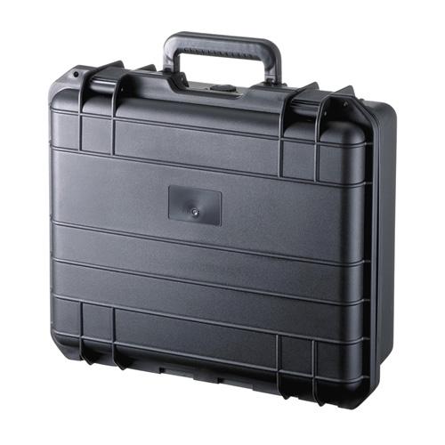 ハードケース(PP樹脂製・密閉ダイヤル・鍵付き・15.6型ワイド対応) BAG-HD1 サンワサプライ