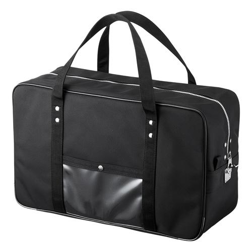 メールボストンバッグ(宅配バッグ・Lサイズ・ブラック) BAG-MAIL2BK サンワサプライ