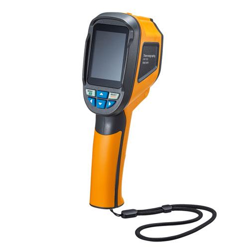 サーモグラフィ(赤外線・1024画素・乾電池式・ケースつき) CHE-TG32 サンワサプライ