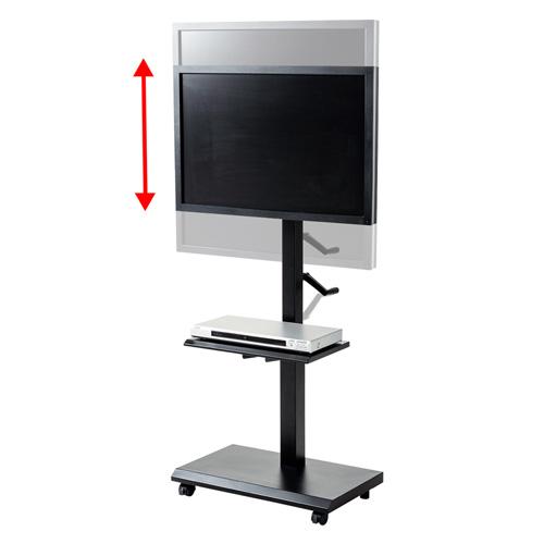 テレビスタンド(壁寄せ・キャスター・移動式・昇降・高さ調整・縦置き・20から32インチ)CR-LAST24 サンワサプライ