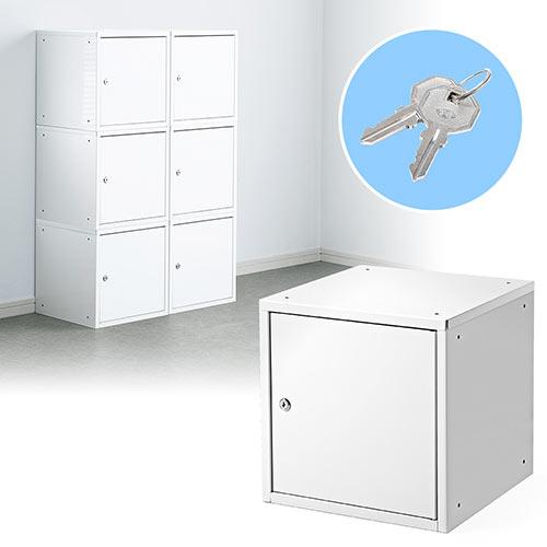 大事な小物や書類の収納・保管に便利な鍵付きの小型セキュリティボックスです。複数連結してロッカーとしての設置や、ご家庭の保管庫としてもおすすめです。