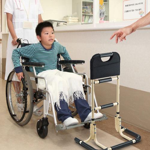 怪我や障害による歩行や、車椅子からの立ち上がりにも便利