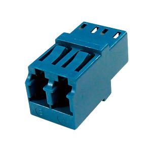 光ファイバケーブルを簡単に延長可能な光アダプタ。LCコネクタ×2-LCコネクタ×2。