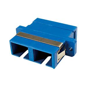 光ファイバケーブルを簡単に延長可能な光アダプタ。SCコネクタ×2-SCコネクタ×2。