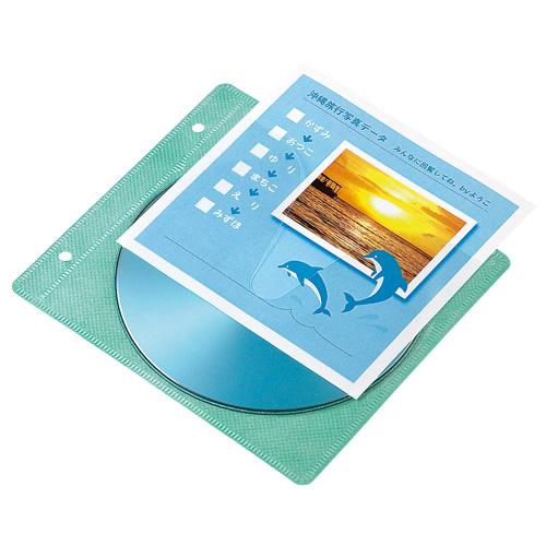 DVD・CDのお手軽インデックスカード、不織布ケース用インデックスカード(50シート) JP-IND10 サンワサプライ