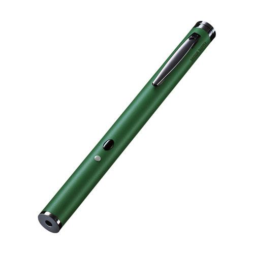 レーザーポインター(グリーンレーザー・緑・電池) LP-GL1017G サンワサプライ