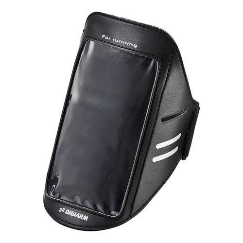 d87237cad4 アームバンドスポーツケース(Lサイズ・ブラック) PDA-MP3C11BK | 激安通販のイーサプライ