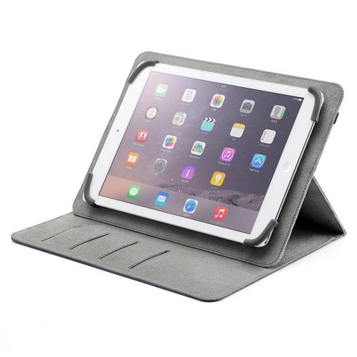 09202b437d タブレットPCマルチサイズケース(10.1インチ・スタンド機能付き・ブルー) PDA-TABFB10BL サンワサプライ PDA-TABFB10BL    激安通販のイーサプライ