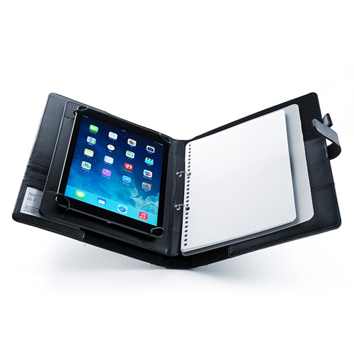 db1dc82e22 システム手帳型タブレットPCケース (A4リフィル・10.1インチタブレット対応) PDA-TABR10 | 激安通販のイーサプライ