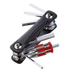 六角レンチが充実した携帯に便利な、折りたたみツールキット TK-018 サンワサプライ
