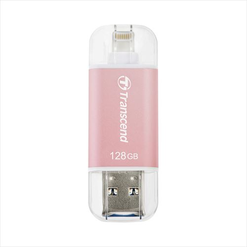 Transcend Lightning・USBメモリ 128GB JetDrive Go 300 USB3.1Gen1(USB3.0)対応 TS128GJDG300R