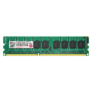4GB Memory for Desktop/DIMM ECC DDR3-1333(PC3-10600) TS512MLK72V3N  Transcend